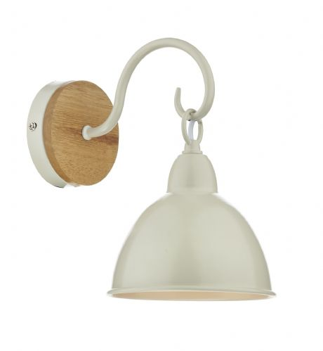 Blyton 1 Light Wall Bracket complete with Painted Shade (Class 2 Double Insulated) BXBLY0743-17